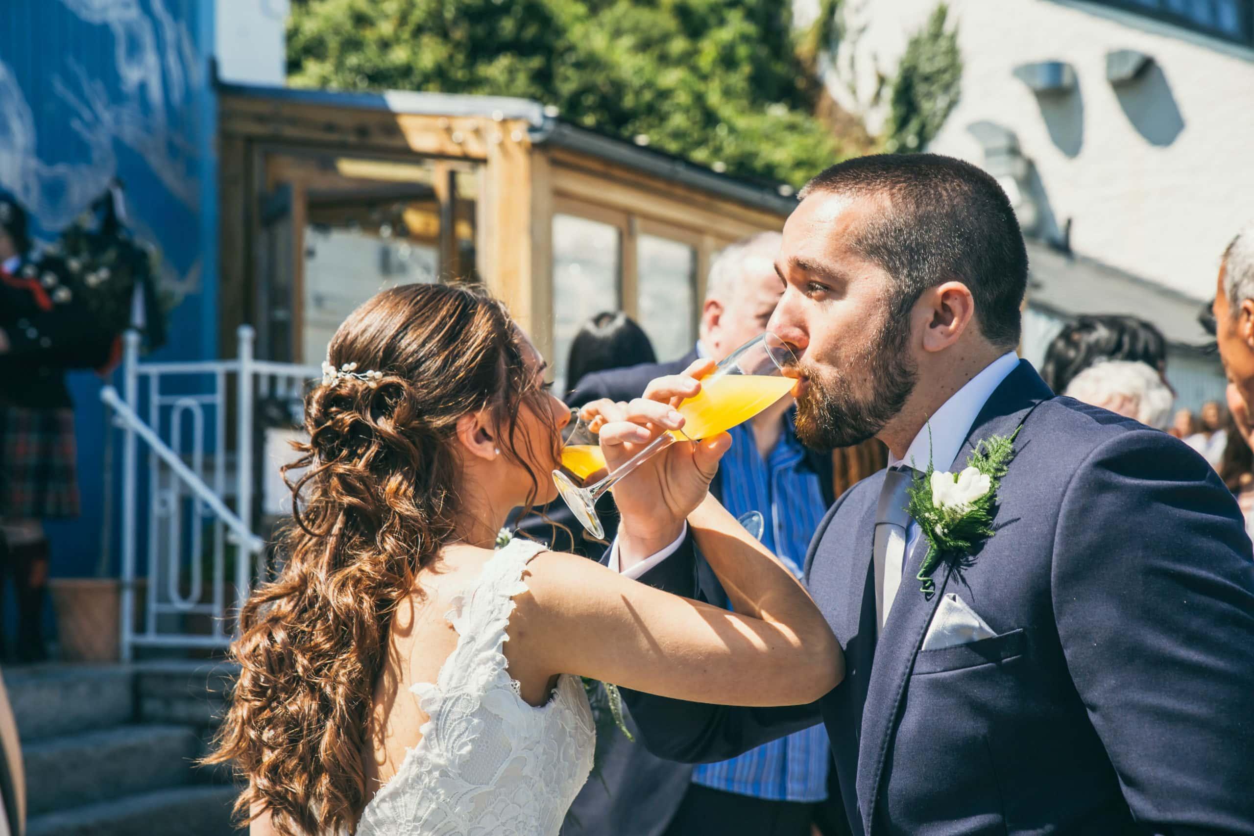 Amelies Wedding Couple